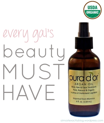argan oil=liquid GOLD!! (can be used for hair, skin & nails!)