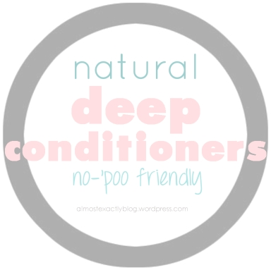 natural deep conditioners (no-poo friendly)