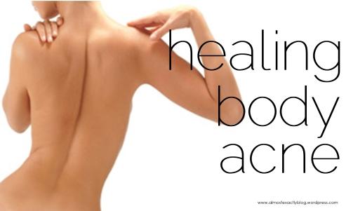 healing body acne