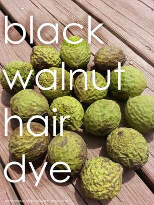 black walnut hair dye - all natural & completely non-damaging way to be any shade of brunette you wanna be!