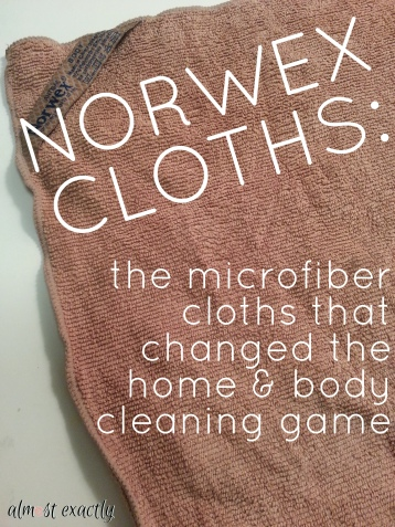 Norwex Cloths Product Review