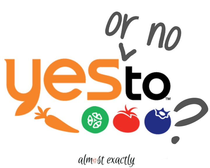 Yes To… product review