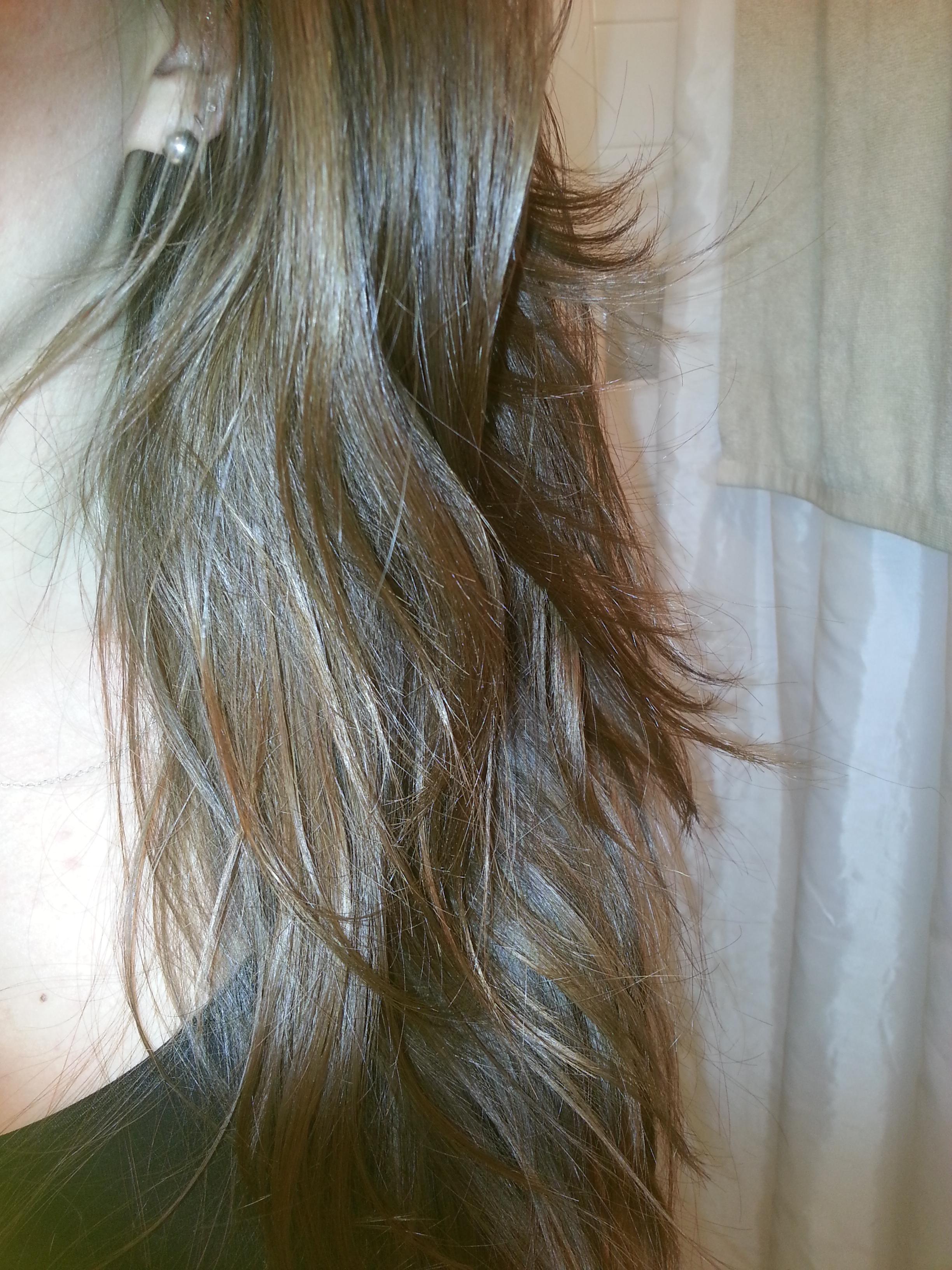 Scritching And Preening Natural Hair