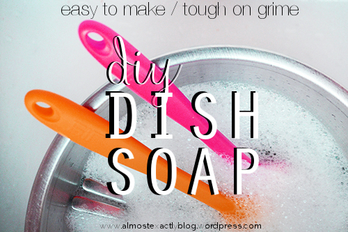 diy dish soap