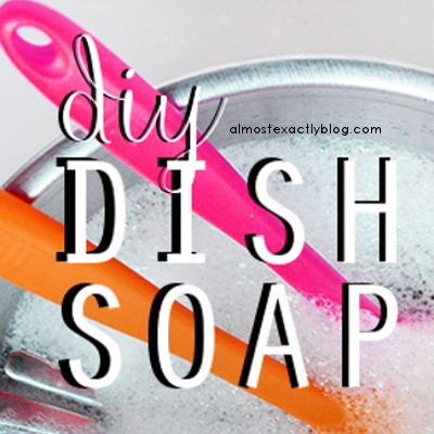diy dish soap - easy to make and tough on grime