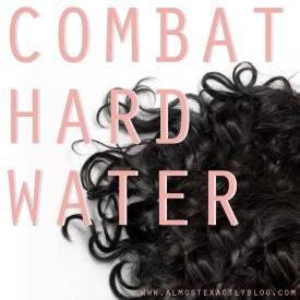 combat hard water